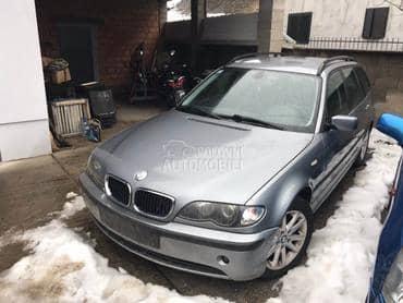 BMW 320 - kompletan auto u delovima od 2002. do 2005. god.