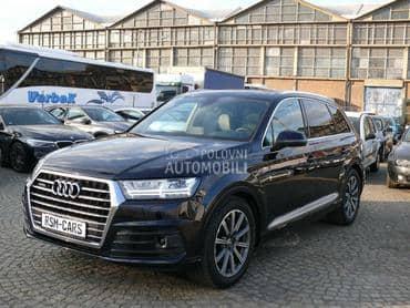 Audi Q7 3 x S LINE 7 sedista