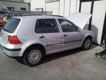 GOLF 4 POLOVNI DELOVI za Volkswagen Golf 4 od 1998. do 2004. god.