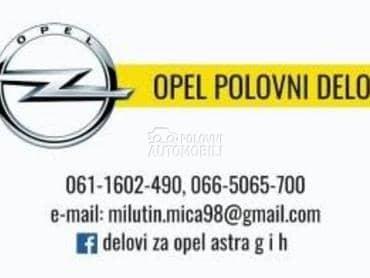 Cevi bos pumpe za Opel Astra G, Vectra B, Vectra C ... od 1998. do 2004. god.