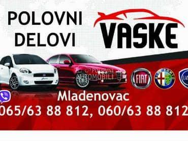 Sedista Alfa 159 Kožna za Alfa Romeo 159 od 2004. do 2012. god.