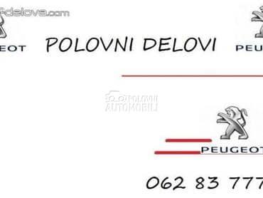 DELOVI za Peugeot 206, 207, 208 ... od 1998. do 2015. god.