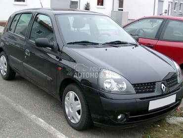 clio 2 polovni delovi za Renault Clio od 2001. do 2007. god.