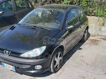 pezo 206 delovi za Peugeot 206 od 2001. do 2008. god.
