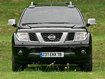Nissan Navara 2009. god. - kompletan auto u delovima