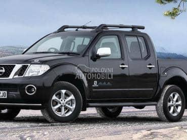 Nissan Navara 2007. god. - kompletan auto u delovima
