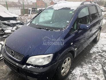 Opel Zafira 1999. god. -  kompletan auto u delovima