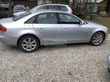 motor,menjac,karoserija,delovi za Audi A4 od 2008. do 2012. god.