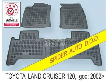 Gumene patosnice kadice za Toyota Land Cruiser od 2003. do 2009. god.