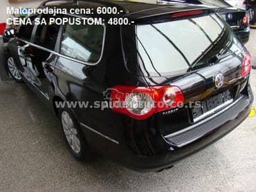 Zaštita branika za Volkswagen Passat B6