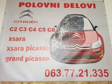 kompletan auto delovi za Citroen C2, C3, C3 pluriel ... od 2001. do 2014. god.