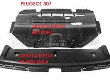 ZASTITA ISPOD MOTORA za Peugeot 206, 207, 208 ... od 1998. do 2017. god.
