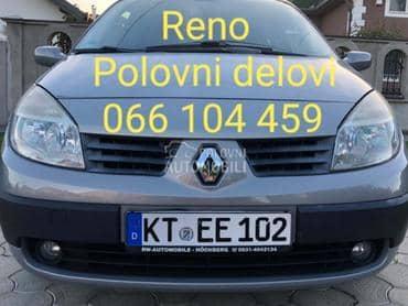 Delovi za Renault Laguna, Megane, Scenic od 1999. do 2010. god.