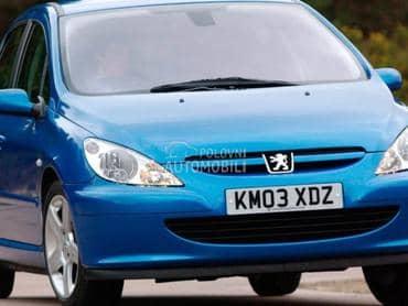 Karoserijski delovi za Peugeot 307 od 2001. do 2005. god.