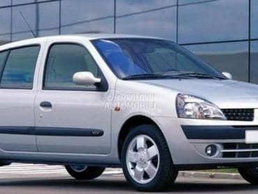 Karoserijski delovi za Renault Clio od 2001. do 2006. god.