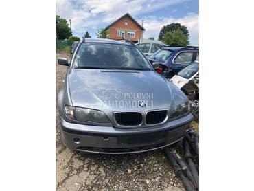 BMW 318 2003. god. -  kompletan auto u delovima