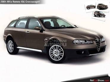 Farovi za Alfa Romeo 147, 156, 156 Crosswagon ... od 2000. do 2010. god.
