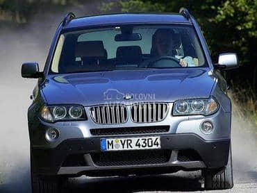 BMW X3 -  kompletan auto u delovima