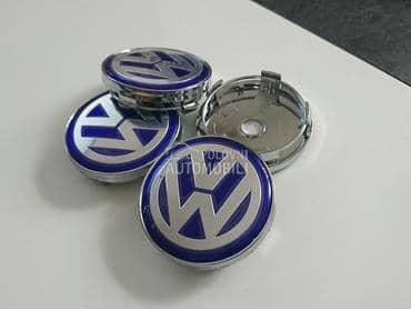 NOVO cepovi za felne 60mm PLAV za Volkswagen Bora, Buba, Caddy ...