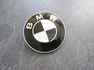 NOV CRNI znak  74mm E46 E90 za BMW Serija 3