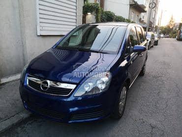 Opel Zafira Svajcarska