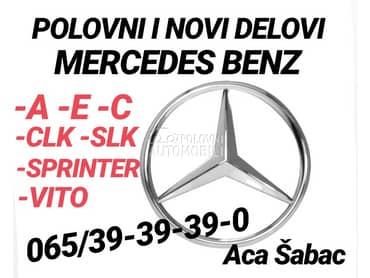 Delovi za Mercedes Benz A Klasa