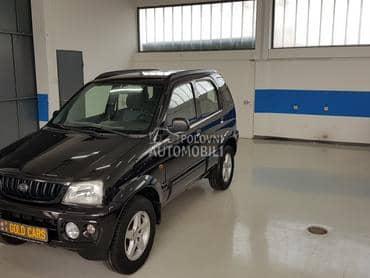 Daihatsu Terios 1.3i 4x4 black pearl