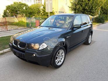BMW X3 2.0d  x drive