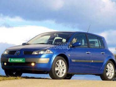 Hauba, krilo, vezni lim za Renault Megane od 2002. do 2008. god.