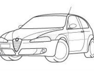 Hauba za Alfa Romeo 4C, 33, 75 ...