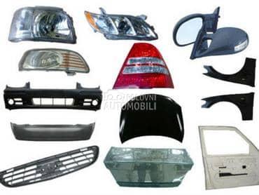 Karoserijski delovi za Renault Avantime, Captur, Clio ...