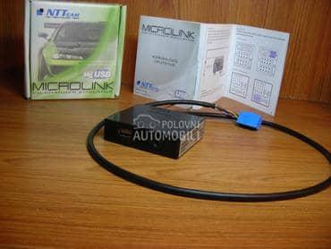 Emulator USB SD AUX  Alfa za Alfa Romeo 147, 156, 159 ...