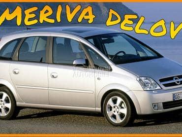 Opel Meriva - kompletan auto u delovima