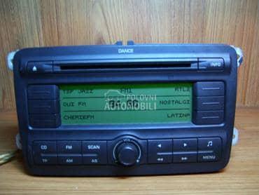 Radio cd za Škoda Fabia, Octavia, Yeti