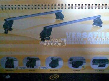 Krovni nosaci za Toyota Avensis, Avensis Verso, Aygo ...