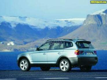 Vezni lim za BMW X3