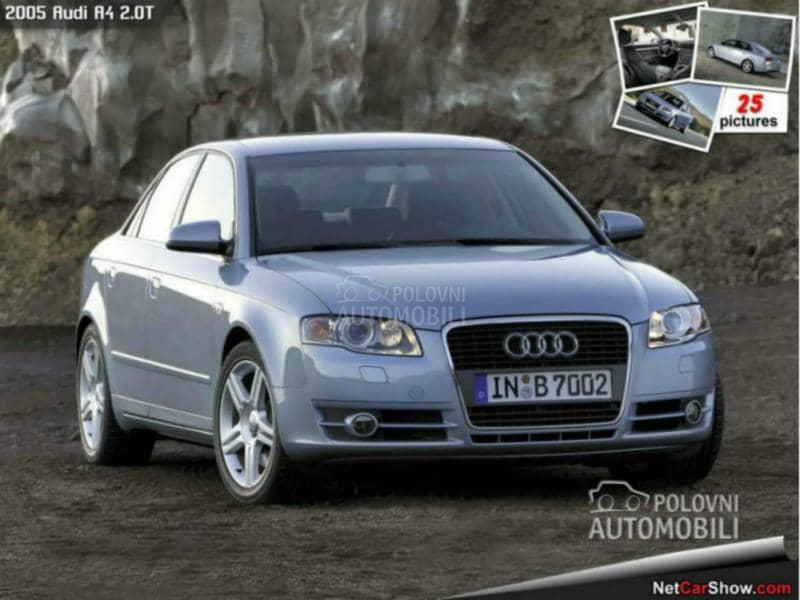 Audi Q5 - kompletan auto u delovima