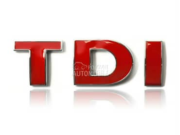 TDI znak vise modela za Volkswagen 181, Amarok, Bora ...