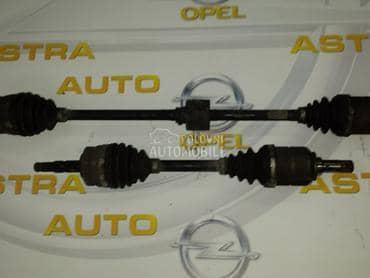 Poluosovine za Opel Corsa C