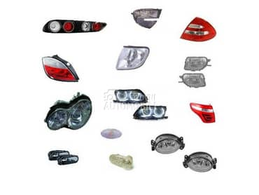 Farovi, sajtne, maske za Mercedes Benz ML 350