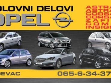 POLOVNI DELOVI MOTORA za Opel Astra G, Astra H, Astra J ...