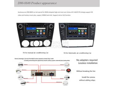 Multimedija, android za BMW 320, 323, 324 ...
