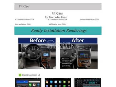 Multimedija, android za Mercedes Benz A 140, A 150, A 160 ...