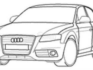 Hauba za Audi 80, 100, A1 ...