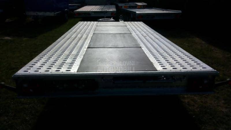 Niewiadow 3,5T platforma 5x2,1m.