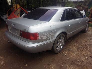 Audi A8 - kompletan auto u delovima