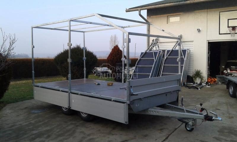 Niewiadow 4x2 2,7T platform alu str