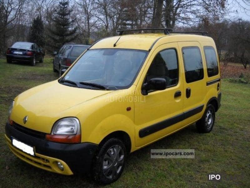 Renault Kangoo - kompletan auto u delovima