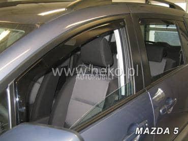 Bocni vetrobrani za Mazda 2, 3, 5 ...
