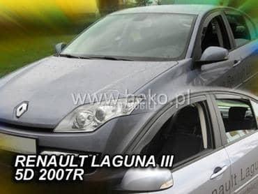 Bocni vetrobrani za Renault Avantime, Captur, Clio ...